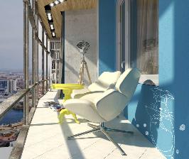 Современная студия на 60 «метрах»: между прошлым и будущим