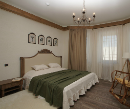 Спальня в стиле кантри: дизайнер Мария Латышева