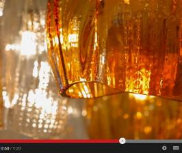 Семь чудес света Preciosa Lighting. <br> Видео с iSaloni WorldWide Moscow 2014