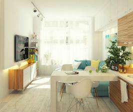 Как обустроить гостиную в малогабаритной квартире
