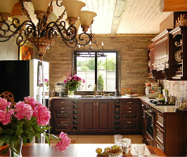 Как сделать кухню в викторианском стиле