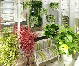 Дом с зимним садом и прудом: дизайнер Константин Григорьев