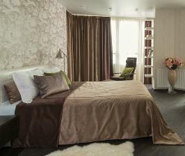 Два в одном – спальня и рабочая зона в одной комнате: дизайнер Татьяна Балабошина