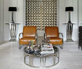 «Блестящая» квартира: дизайнер Катерина Лашманова