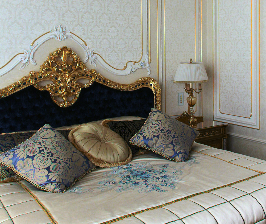 Как сделать в обычной квартире дворцовую спальню?