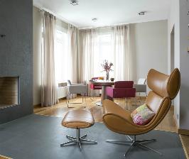 Универсальный интерьер дома в Подмосковье: дизайнер Анна Яровикова