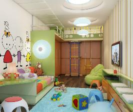 Декоративные наклейки в интерьере детской: дизайнеры Сергей Фролов, Максим Ефремов