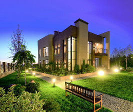 Дом возле реки в Украине: дизайнер Иван Юнаков