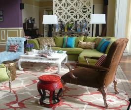 Разноцветный интерьер дома в Подмосковье: дизайнеры Надежда и Георгий Ананьевы
