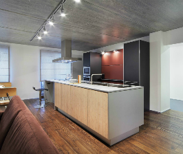 Объединение двух квартир в Екатеринбурге: дизайн студии Градиз