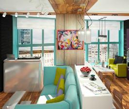 Свобода творчества: квартира-студия для жизни и креатива