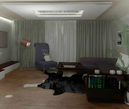 Гостиная в доме  для семьи из пяти человек: дизайнер Алена Шамайко