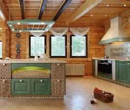 Французская кухня в сосновом лесу: дизайнер Марина Пенние