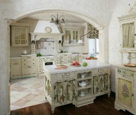 Интерьер кухни в итальянском стиле: дизайн бюро Papillon