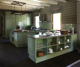 Дизайн кухни в частном доме: дизайнер Татьяна Аленина