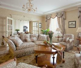 Квартира в буржуазном стиле: дизайнер Елена Некрасова