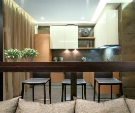 Кухня маленькой площади: Domestic Studio