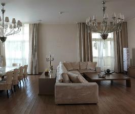 Интерьер светлой гостиной: дизайн архитектурной студии OLstudio