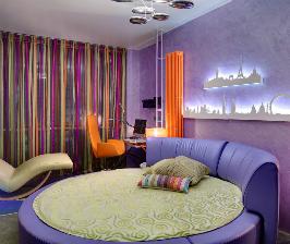 Разноцветная квартира: дизайн студии КЭТ