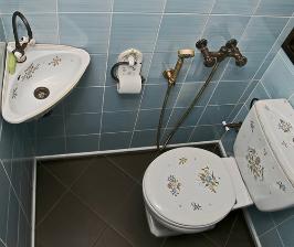 Как обустроить гостевой санузел в обычной квартире