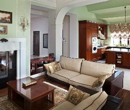 Интерьер дома, невозможный без текстиля: studio SBM