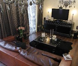 Квартира в сливочных тонах: дизайнеры Евгений и Ирина Патрушевы