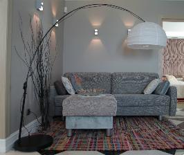 Две зоны – для обеда и отдыха – в одном пространстве: дизайнер Елена Поворова