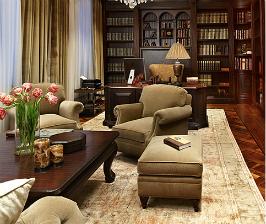 Маленький кабинет в квартире: дизайнер Татьяна Миронова