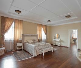 Спальня в большой квартире в Астане: архитектурная студия «Версия»