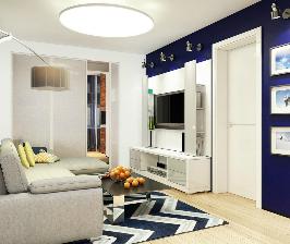 Новая комната рядом с гостиной: трансформация лоджии