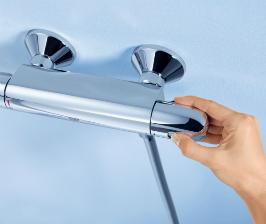 Термостат GROHE защищает от ожогов
