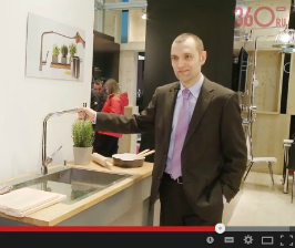 Мировые премьеры Hansgrohe. <br>Видео с выставки Mosbuild 2015