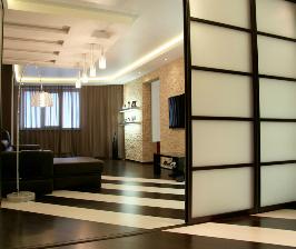 Архитектурные мотивы в интерьере квартиры: дизайнер Юлия Агафонова