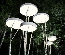 Световая инсталляция Berezki от Centrsvet.ru
