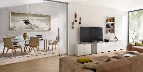 Расставить мебель в гостиной 18 кв.м: <strong>3</strong> простых принципа