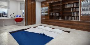 Единым фронтом: как объединить спальню с гостиной и не прогадать