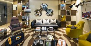 На Рижском взморье: интерьер общих зон апарт-отеля Park Apartments