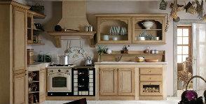 Стиль рустик на кухне