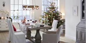 Модный Новый год: сервировка стола в скандинавском стиле