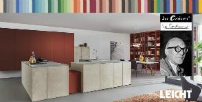 Leicht создает кухни в оттенках Les Couleurs