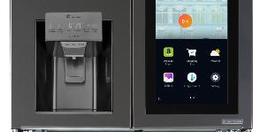 LG отправляет содержимое холодильника на смартфон