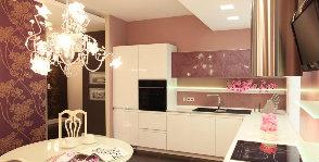 Общие принципы освещения кухни