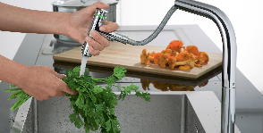 Hansgrohe приносит эмоции на кухню