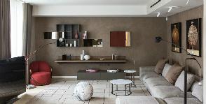 Искусство и современность в интерьере лондонской квартиры: проект Вячеслава Хомутова