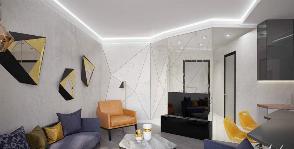 Как оформить ТВ-зону в гостиной