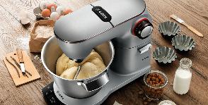Bosch профессионально замешивает тесто