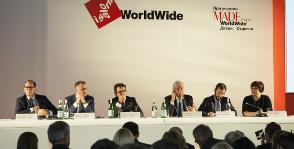 Открытие i Saloni WorldWide Moscow 2017