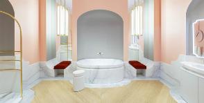 Элегантность по-французски: уникальный образ ванной комнаты от  Jacob Delafon
