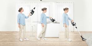 Новинка от Bosch: уникальный пылесос Unlimited со сменным аккумулятором
