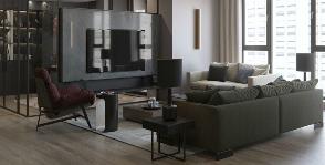 Квартира для двоих: проект студии Aiya Design